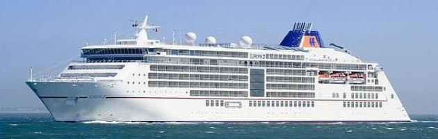 Europa 2 at Southampton (Wikipedia)